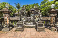 Temple in Bali, Indonesia on a beautiful sunny day Stock Photo