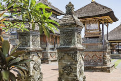 Temple in Bali, Indonesia on a beautiful sunny day Stock Image