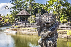 Temple in Bali, Indonesia on a beautiful sunny day Stock Photos
