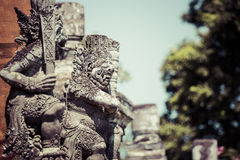 Temple in Bali, Indonesia on a beautiful sunny day Royalty Free Stock Images