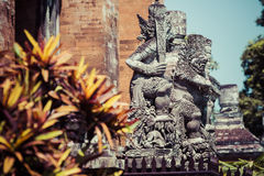 Temple in Bali, Indonesia on a beautiful sunny day Stock Photography