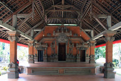 Temple at the Balinese elephant cave in ubud. Balinese elephant cave in ubud Royalty Free Stock Photos
