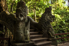 Temple. Balinesian temple of himduism, Dempasar, indonesia Stock Image