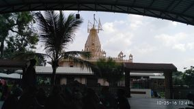 Temple of baliya dev in lambha, Ahmedabad, Gujarat. This is bach side photo of the temple,which is very famous in all gujarat, millions of people& x27;s wish is Stock Image