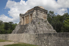 Temple at the ball court, Chichen-Itzá Stock Image