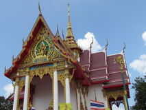 Temple at Bang Saray Pattaya Thailand Stock Images