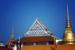Temple in Bangkok. Bangkok Architecture stock photo