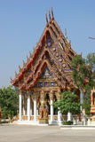 Temple in Bangkok. Along the Chao Praya river Royalty Free Stock Image