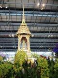 Temple in Bangkok airport Stock Image
