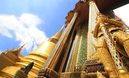 Temple in Bangkok Royalty Free Stock Photo