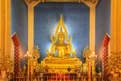 Temple in Bangkok, Beautiful Thai Temple Wat Benjamaborphit. In Thailand Stock Photography