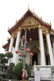Temple in Bangkok. One of the temples in Royal palace in Bangkok Stock Photography