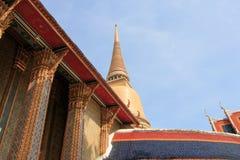 Temple in Bangkok Royalty Free Stock Photos