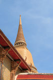 Temple in Bangkok Royalty Free Stock Photo