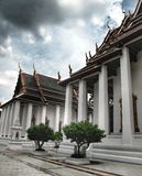 Temple in Bangkok, and pavilion Thailand,religion Stock Photos