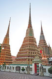 Temple in Bangkok Thailand Royalty Free Stock Photography