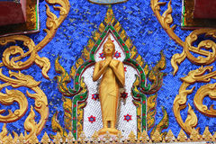 Temple, Bangkok, Thailand. Royalty Free Stock Photography