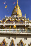 Temple in Bangkok in Thailand Royalty Free Stock Photography