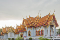 Temple in bangkok,Thailand. Benchamabophit temple in Bangkok Thailand,Religious sights,Beautiful places stock image