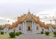 Temple in bangkok,Thailand. Benchamabophit temple in Bangkok Thailand,Religious sights,Beautiful places stock images