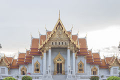 Temple in bangkok,Thailand. Benchamabophit temple in Bangkok Thailand,Religious sights,Beautiful places stock photos