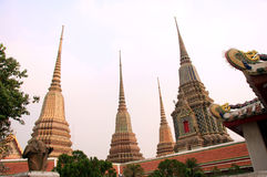 Temple - Bangkok  - Thailand Stock Photo
