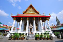 Temple in Bangkok Wat Arun, Thailand. Royalty Free Stock Images
