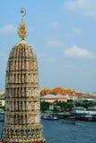 Temple in Bangkok Wat Arun, Thailand. Stock Photo