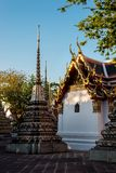 Temple in Bangkok royalty free stock photos