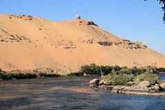 Temple on banks of River Nile 4 Royalty Free Stock Photography