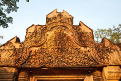 Temple Banteay Srei, Cambodia Royalty Free Stock Images