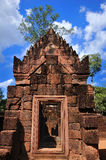 Temple banteay srei Stock Photography