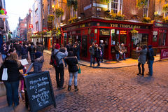 Temple Bar district Dublin Royalty Free Stock Photography
