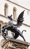 Temple Bar dragon statue Royalty Free Stock Photos