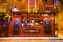 Temple Bar Dublin Stock Image