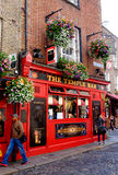 Temple Bar. Dublin, Ireland. August 18, 2015. Pub in Temple Bar area of the city Royalty Free Stock Images