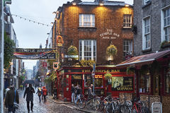 The Temple Bar Stock Image