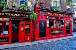 The Temple Bar stock photo