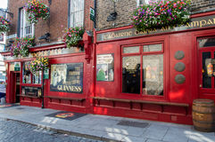 Temple Bar Pub in Dublin, Ireland Royalty Free Stock Photography