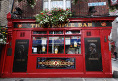 The Temple bar restaurant in Dublin Royalty Free Stock Images