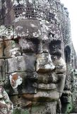Temple of Bayon, Angkor, Siem Riep, Cambodia. Stock Photo