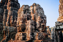 Temple Bayon Stock Photo
