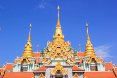 Temple. Be sunny bright sky and good weather Stock Image