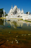 Temple beautiful the best in the world. Architecture in chiangrai Thailand royalty free stock photography