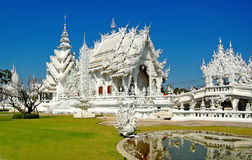 Temple beautiful the best in the world. Architecture in chiangrai Thailand royalty free stock photo