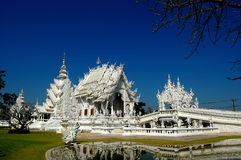 Temple beautiful the best in the world. Architecture in chiangrai Thailand royalty free stock photos