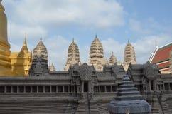 Temple. Beautiful Thai temple stock image