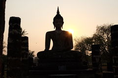 Temple. Beautyful sunset to day Stock Images