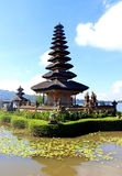Temple at bedugul. One day at bedugul bali, temple on the lake Stock Images