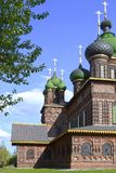 Temple of the Beheading of John the Baptist in the city of Yaroslavl, Russia stock photography
